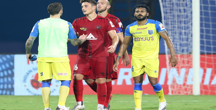 northeast united showed character against kerala blasters says gerard nus