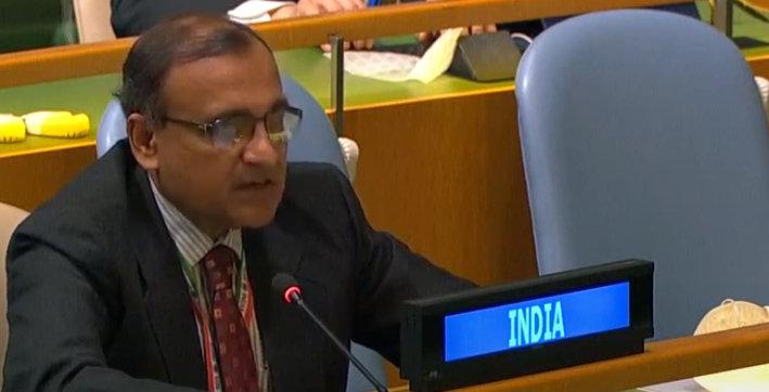 restoring peace must be priority of stakeholders in myanmar india at unga
