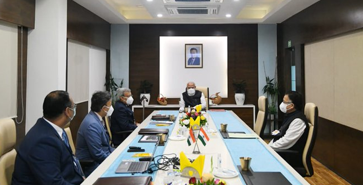 modi concludes zydus biotech park visit next stop bharat biotech facility in hyderabad