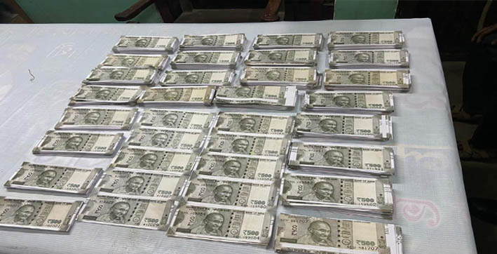 Police seizes fake Indian currency from Jorabat, 1 detained