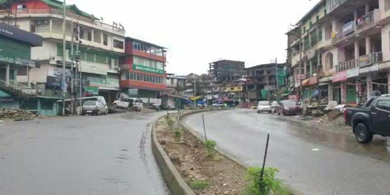 partial lockdown in itanagar