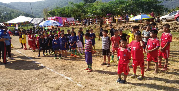 golden baby leagues help generate passion for football in rural manipur