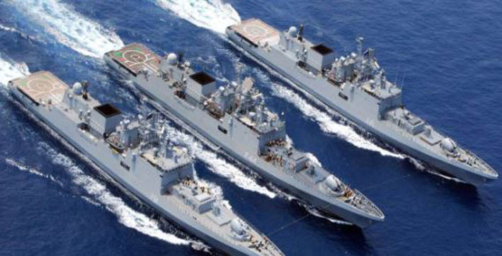 pm narendra modi defence minister extend greetings on navy day