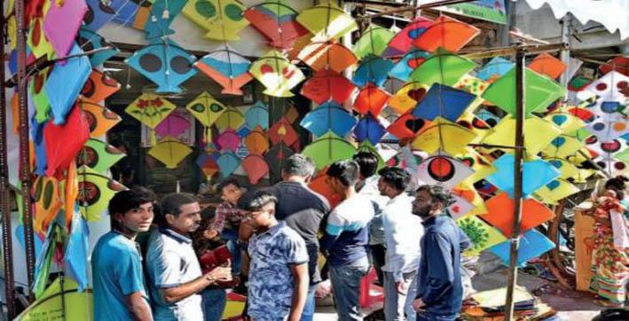 surat kite makers face slump in business ahead of uttarayan festival