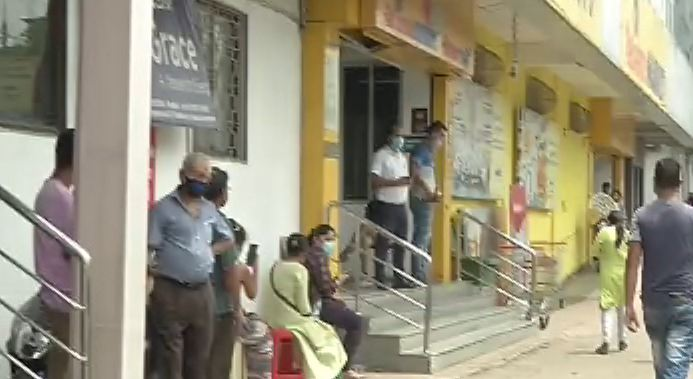 shopping malls open with special precautions