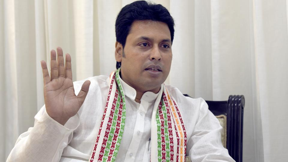 tripura cm biplab deb goes into self isolation after two family members test covid-19 positive