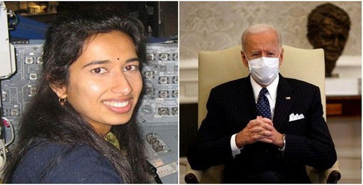 Biden congratulates team NASA, says Indian Americans are