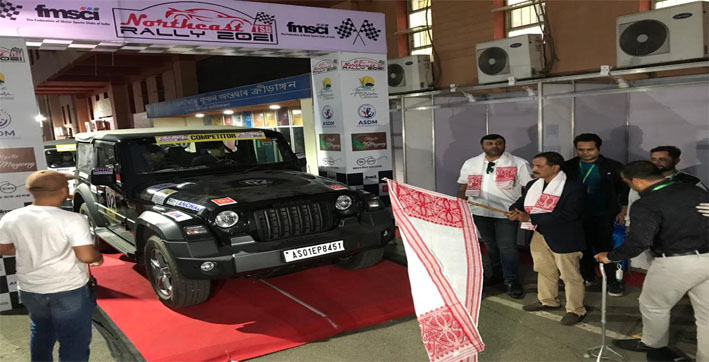 4th Northeast TSD Rally flagged off