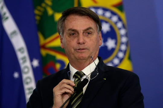 brazils president jair bolsonaro tests positive for covid-19