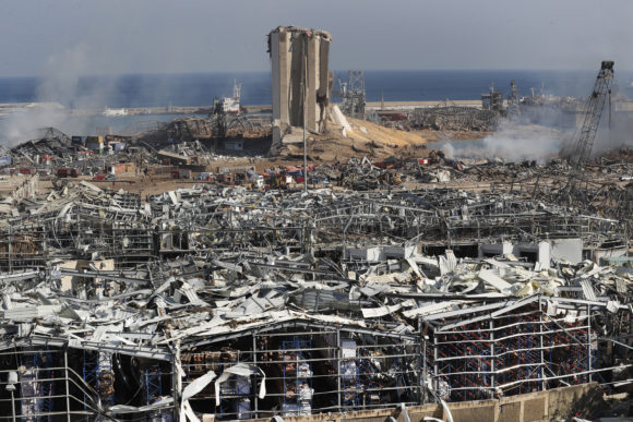 16 port employees detained in beirut explosion