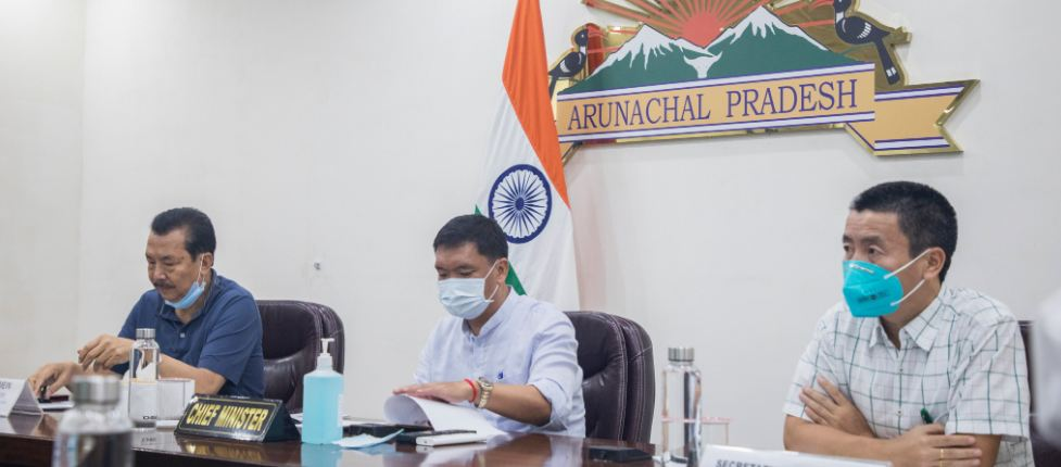 khandu reviews road projects