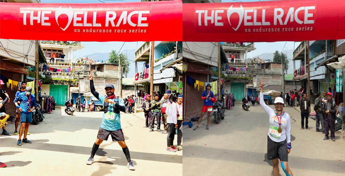 City runners complete Hell Race in Darjeeling