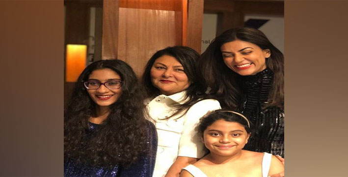 'Thanks for being divine source of love': Sushmita Sen pens heartfelt Mother's Day note