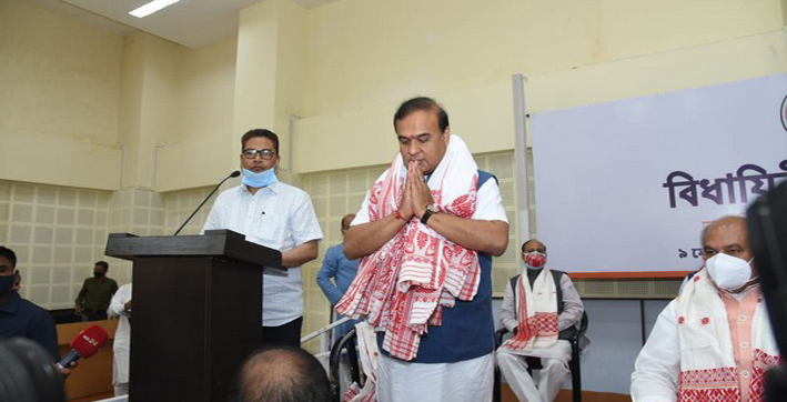 Assam Cabinet to take oath at 12 noon on Monday: Himanta Biswa Sarma