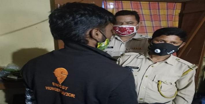 City Police arrests three food delivery boys for drug peddling