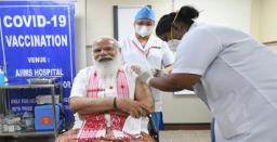 PM Modi takes first dose of COVID-19 vaccine