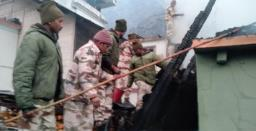 Fire breaks out in house in Sikkim's Lachung, no casualties reported