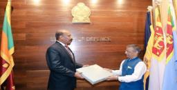 Sri Lanka Defense Secy appreciates India