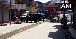 Two policemen, two civilians killed in terrorist attack in J-K