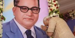 PM Modi pays tribute to Babasaheb Ambedkar on his 130th birth anniversary