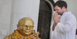 Ambedkar Jayanti | Rahul Gandhi pays homage to Babasaheb
