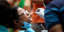 India reports highest-ever one day spike with over 1.8 lakh COVID-19 cases, 1,027 d ..