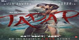 Akshay Kumar shares first poster of 'Tadap'