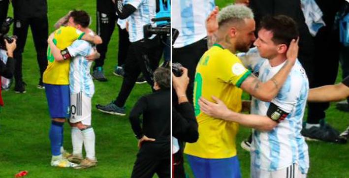 watch- -lionel-messi-consoles-neymar-after-brazil-lose-copa-america-2021-final