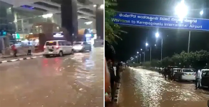 Bengaluru Airport Flooded after Heavy Rain, Showers Likely to Continue today