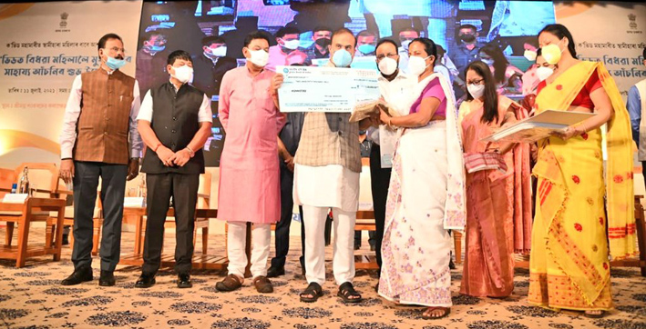 assam-cm-launches-scheme-to-provide-rs-25-lakh-assistance-to-covid-19-widows