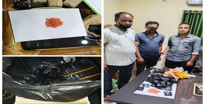 karimganj-drugs-seized-by-badarpur-police-one-arrested-