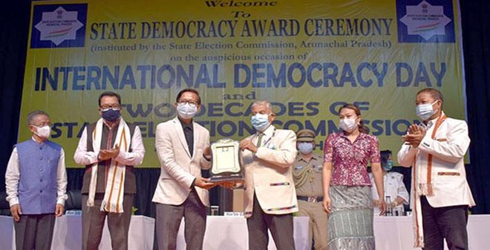 Arunachal Pradesh: Longding District Receives Award for Holding Fairest Election