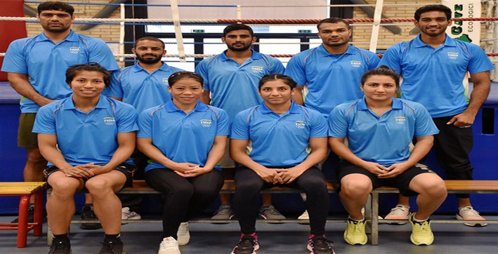 indian-boxing-contingent-arrive-in-tokyo-ahead-of-olympics