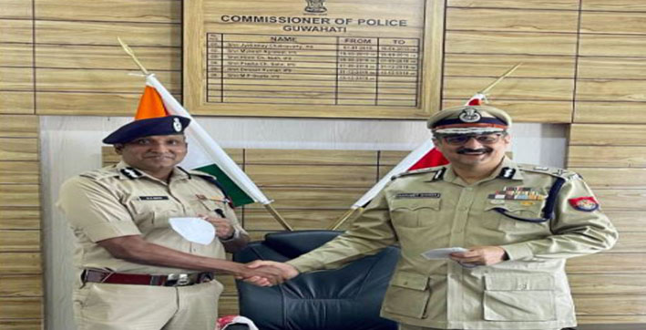 harmeet-singh-takes-over-as-commissioner-of-police-guwahati