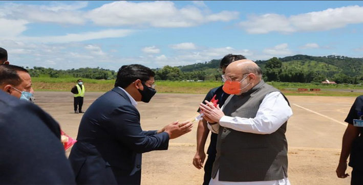 amit-shah-reaches-shillong-on-his-two-day-visit-to-north-east