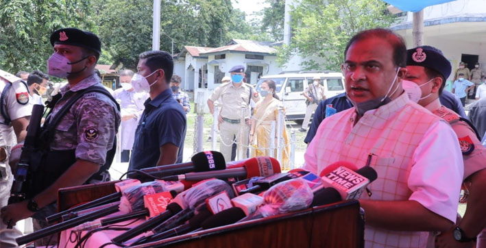 assam-cm-himanta-biswa-sarma-visits-bhuragaon-meets-family-of---murdered-girl-