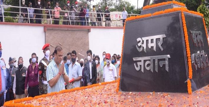kargil-vijay-diwas-cm-himanta-biswa-sarma-lays-wreath-at-dighalipukhuri-war-mem