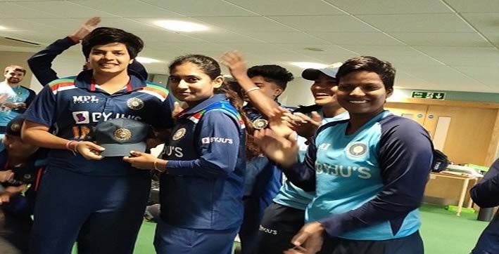 shafali-verma-becomes-youngest-indian-to-make-debut-in-all-formats