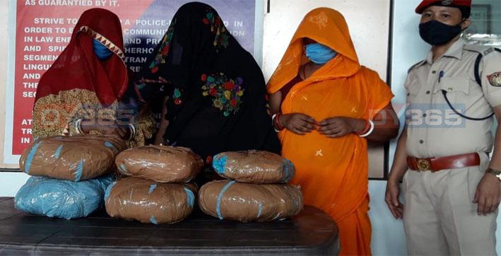women-drug-peddlers-detained-by-guwahati-police-in-paltan-bazar