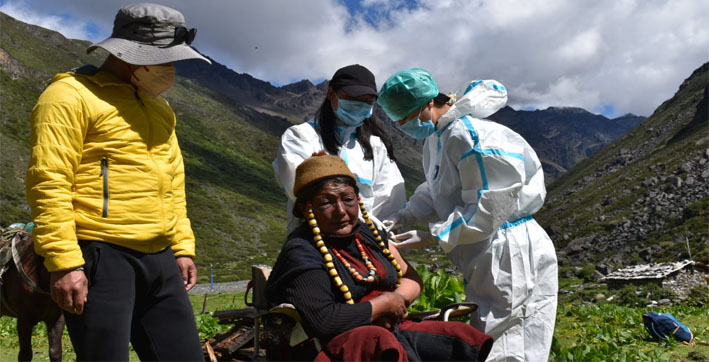 covid-19-vaccination-camp-held-at-last-indian-village-towards-tibet-border