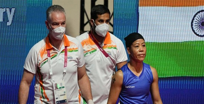 Tokyo Olympics: Mary Kom surprised after being asked to change jersey minute before bout