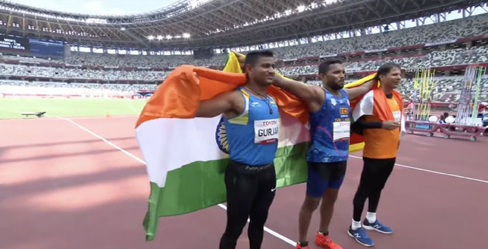 Tokyo Paralympics: Devendra, Sundar Win Silver and Bronze in F46 Javelin Throw