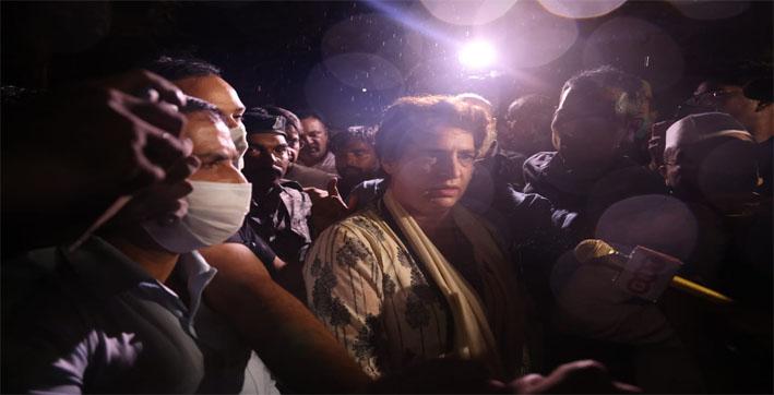priyanka-gandhi-arrested-from-ups-hargaon-claims-youth-congress-national-presi