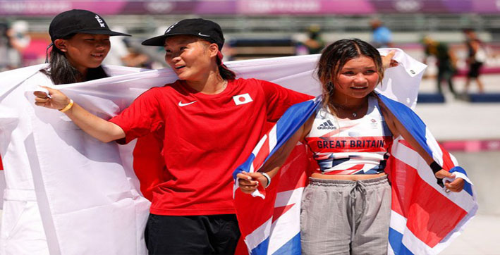 Tokyo Olympics: 13-year-old Sky Brown wins bronze, becomes Britain