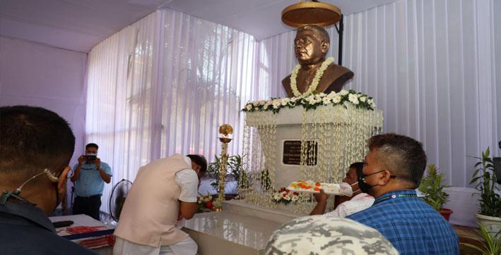 CM Himanta Biswa Sarma Pays Tributes to Lokpriya Gopinath Bordoloi on His Death Anniversary