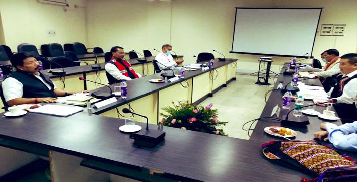 Assam-Mizoram Border Dispute: Minister Atul Bora and Ashok Singhal Meets Representatives of Mizoram Govt at Aizawl