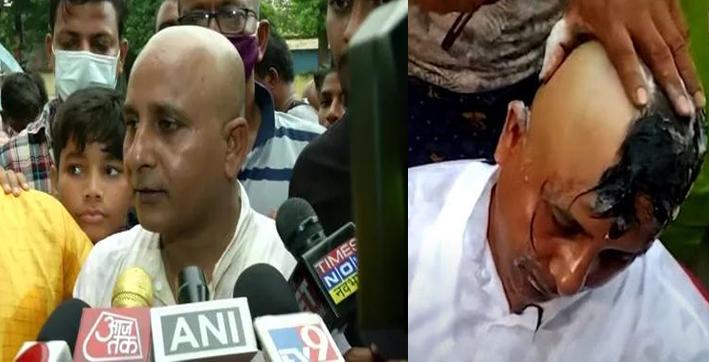 Tripura BJP MLA Ashis Das Shaves Head, Performs Yagya Before Joining TMC