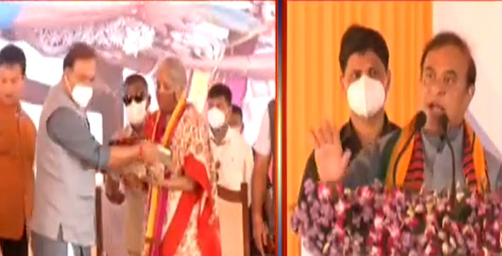 fm-nirmala-sitharaman-in-assam-launches-hydro-electric--road-project-in-dima-h
