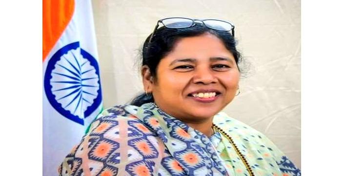 cabinet-expansion-2021-mp-sushri-pratima-bhoumik-sworn-in