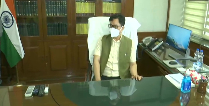 kiren-rijiju-takes-charge-as-minister-of-law-and-justice
